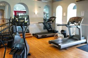 Treadmills, Grand Hotel Swanage