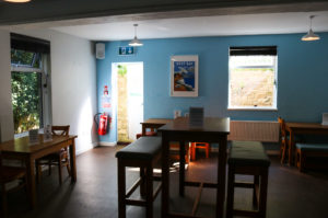 Rear dining area, Swanage Youth Hostel