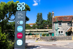 Opening hours and facilities at Swanage Co-Op