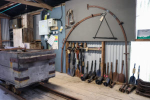 Purbeck Mineral & Mining Museum display