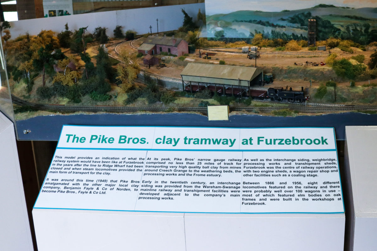 Tramway history display and information