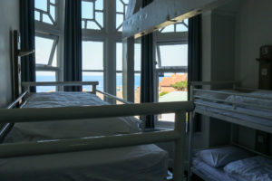 Room with a sea view at the YHA in Swanage