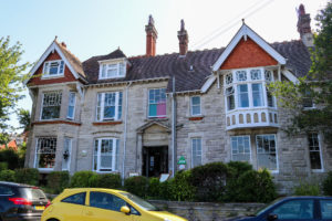 Front outside view of the Swanage YHA