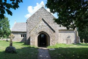 Entranceway to St Mary's Church, Tyneham