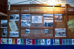 History of farming in Purbeck at Tyneham, St Mary's Church