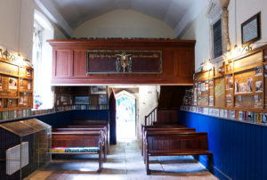Pews and gallery seating, St Mary's Church, Tyneham