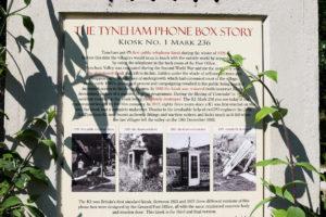 Story of the Tyneham telephone box
