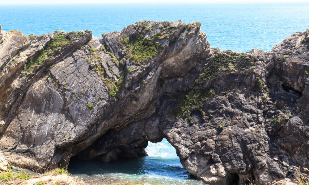 Blow hole of Stair Hole in Lulworth
