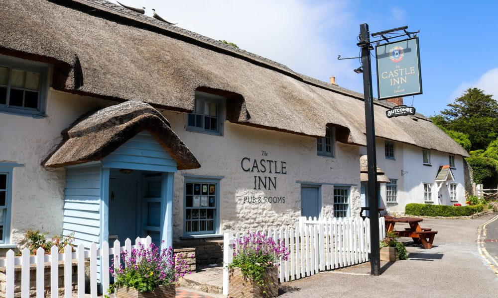 the Castle Inn pub in Lulworth