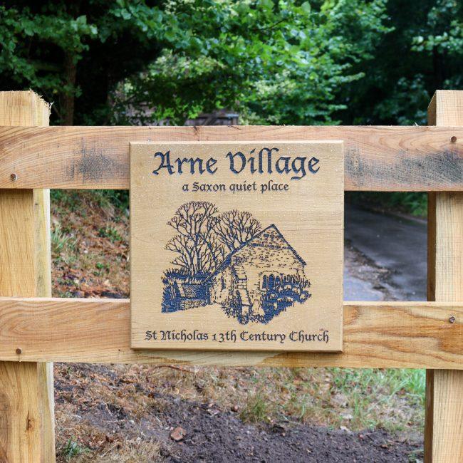 Arne village