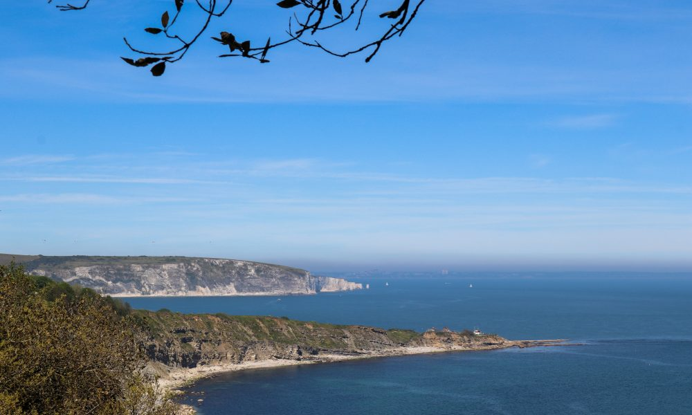 Durlston Head and Ballard from Durlston Country Park