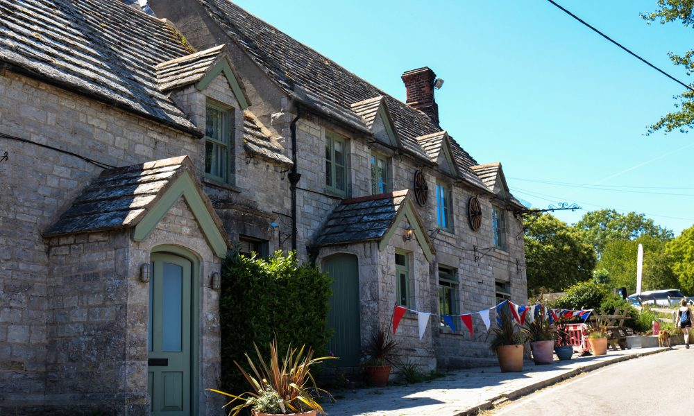 The Bankes Arms pub in Studland