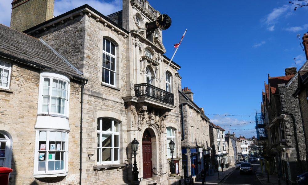 Swanage Town Hall, High Street