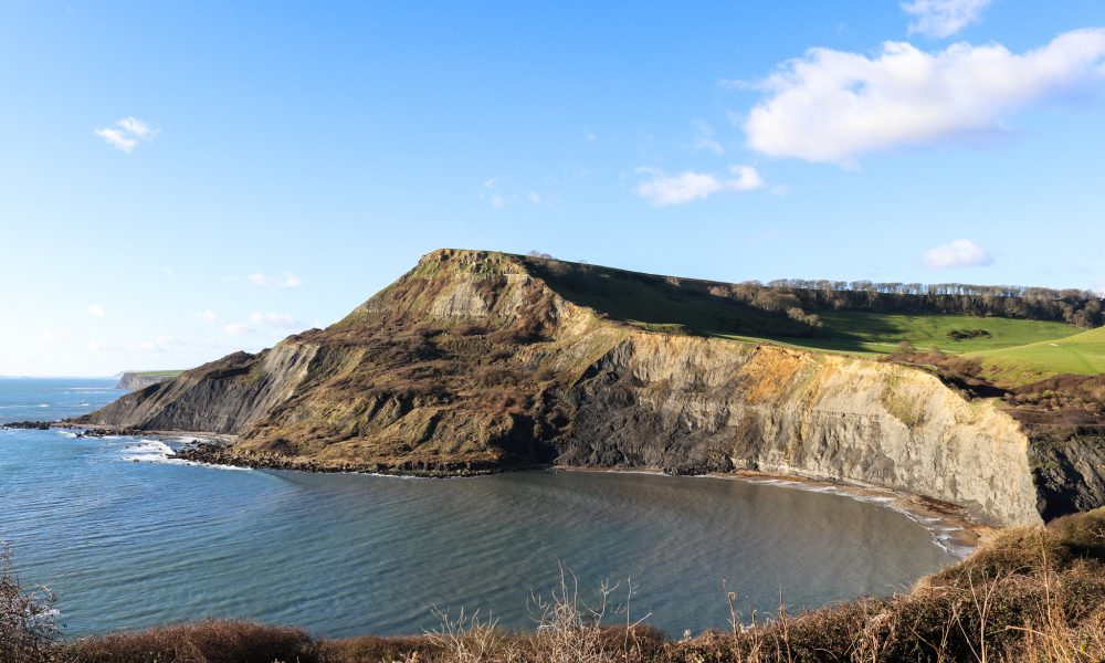 Chapman's Pool viewed from the path above