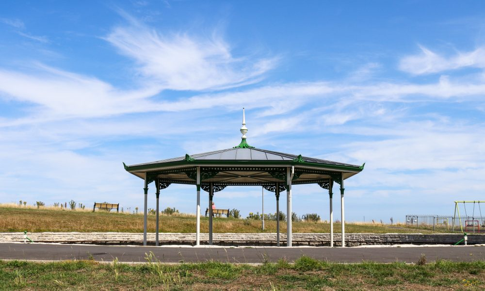 The bandstand in Swanage